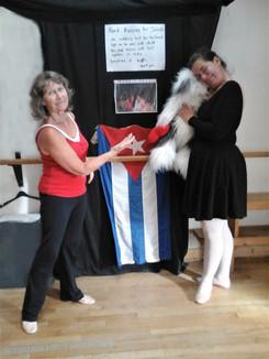 small Theresa winner of the fund raising