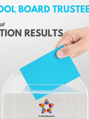 Unofficial Results are in for School Trustee Election
