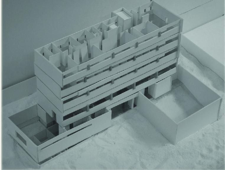 מודל מבנה קיים