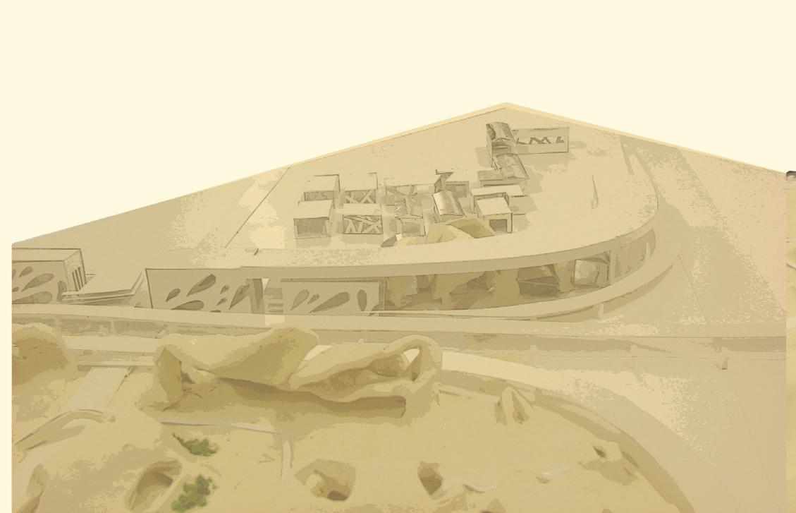 מודל מתחם כניסה בינוי