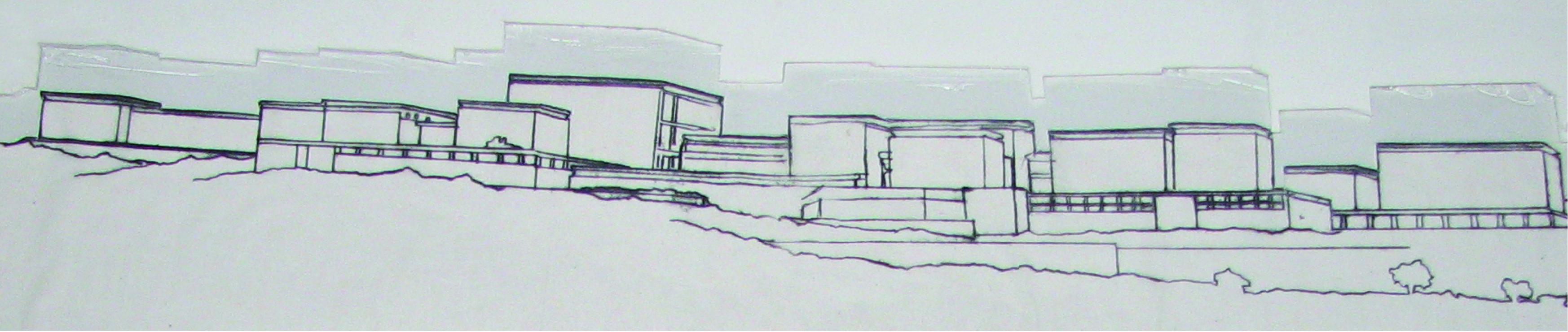מוזיאון ישראל חזית מזרחית