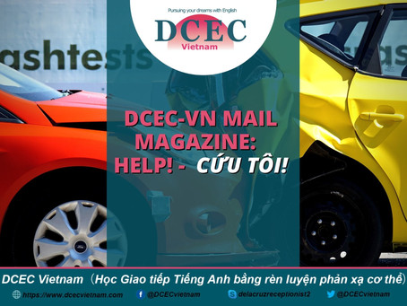 DCEC-Vietnam Mail Magazine: Help! - Cứu tôi!