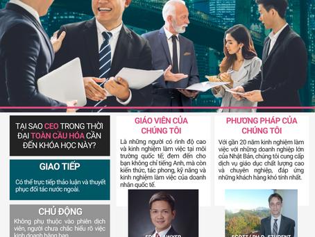 GIAO TIẾP TIẾNG ANH THƯƠNG MẠI Dành cho CEO