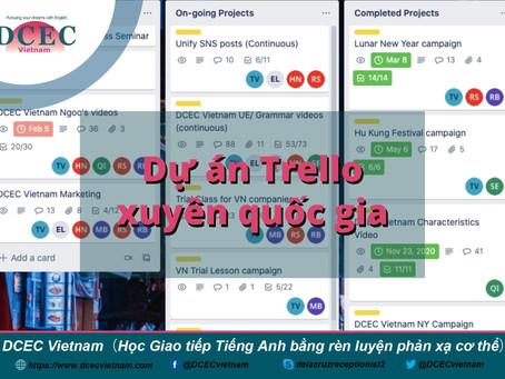 Dự án Trello xuyên quốc gia