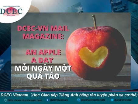 DCEC-Vietnam Mail Magazine: An Apple a Day - Mỗi ngày một quả táo
