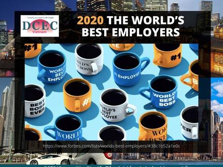 2020: Những nhà sử dụng lao động tốt nhất thế giới (The World's Best Employers)