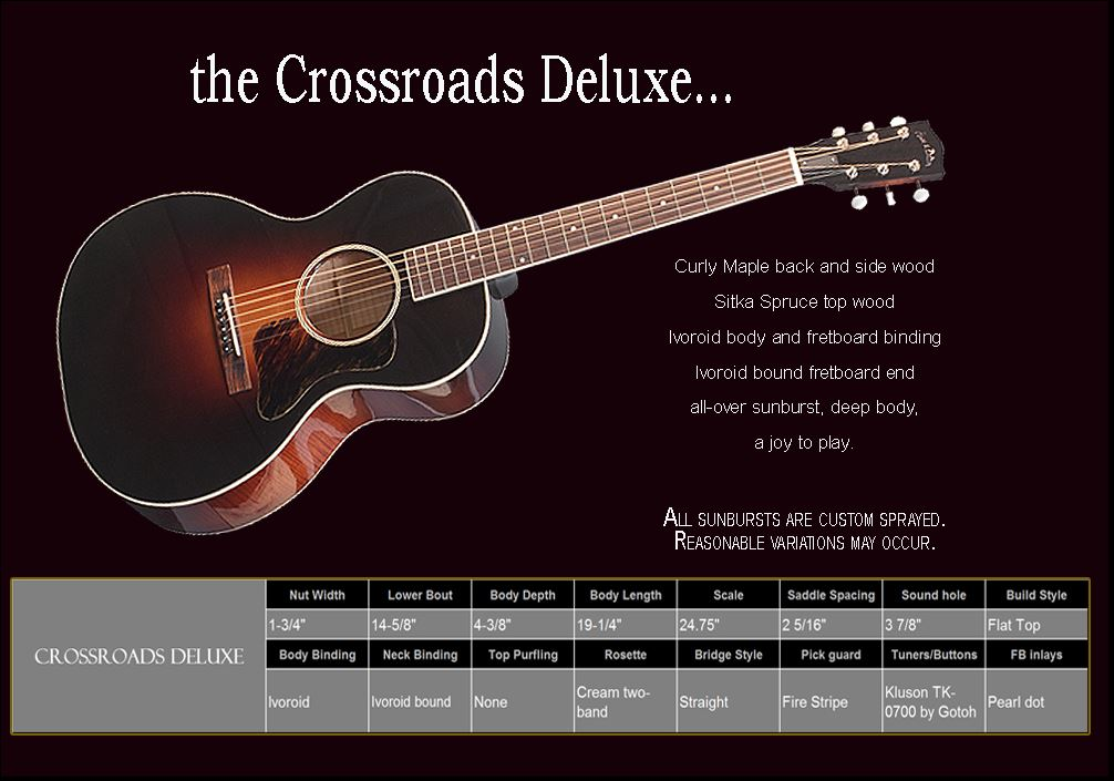 Crossroads Deluxe Spec Sheet