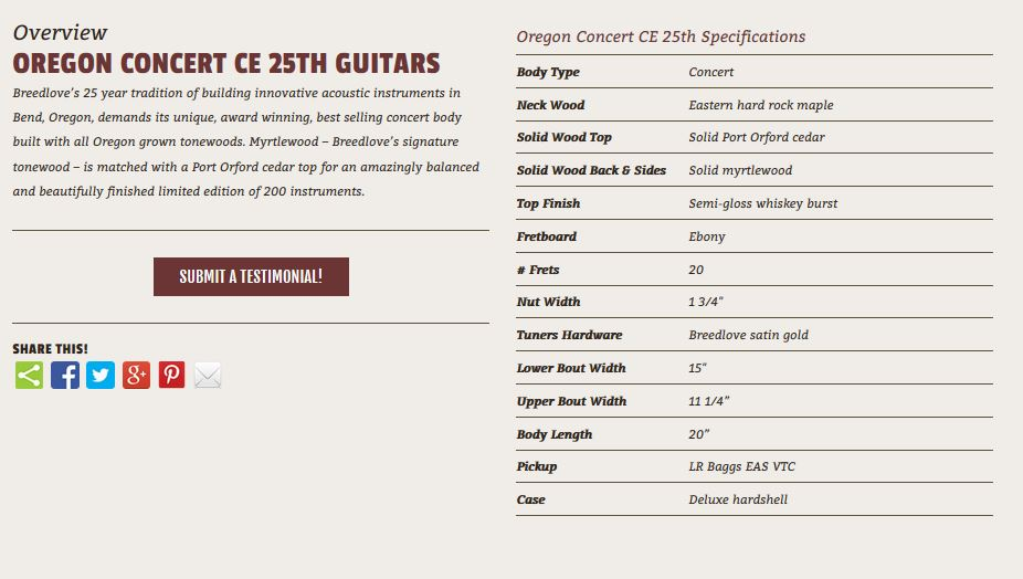 Oregon Concert 25th Anniversary LTD