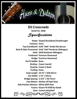 DS Crosroads Specifications