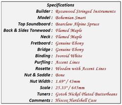 Bohemian Smart Data Sheet