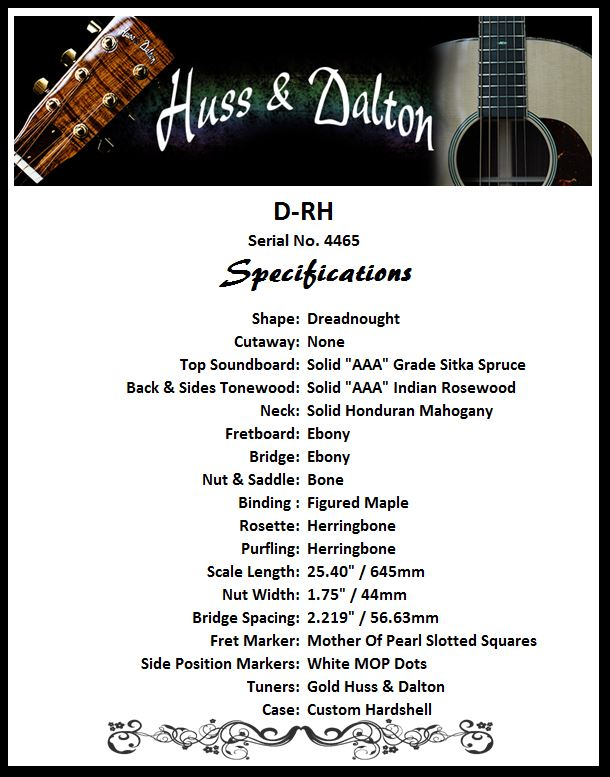 D-RH Standard Specifications