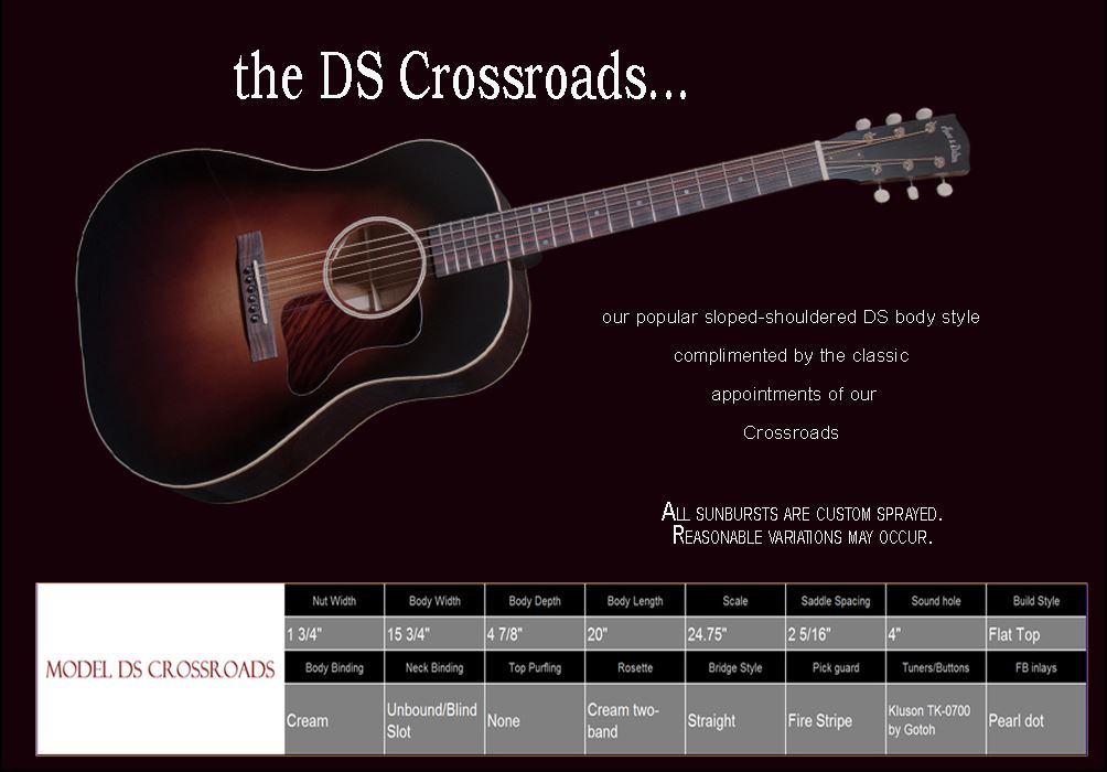 DS Crosroads Spec Sheet
