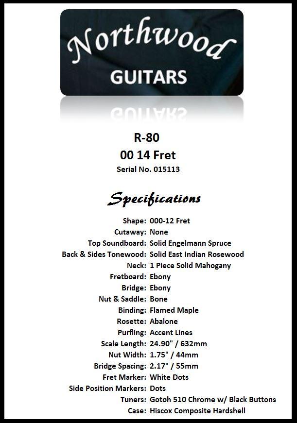R80-000-14 Spec Sheet