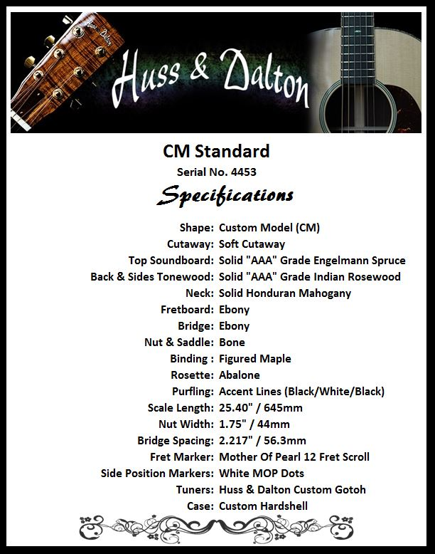 CM Standard Specifications