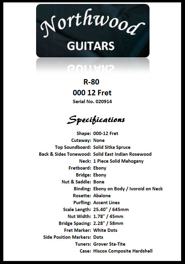 R80-000-12 Spec Sheet
