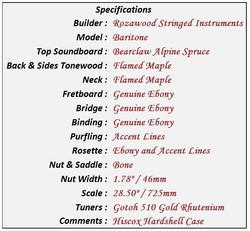 Baritone Data Sheet