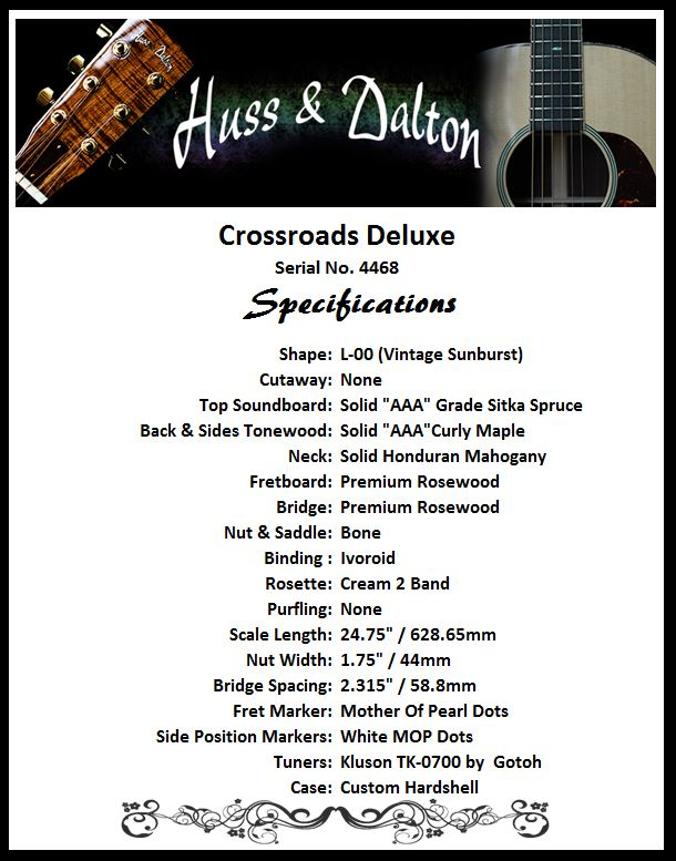 Crossroads Deluxe Specifications
