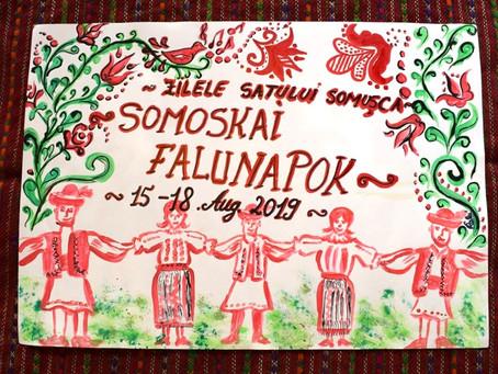 SOMOSKAI FALUNAPOK 2019. AUGUSZTUS 15-18