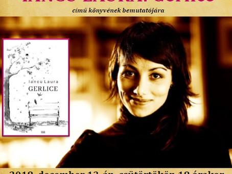 Iancu Laura újabb könyvbemutatója