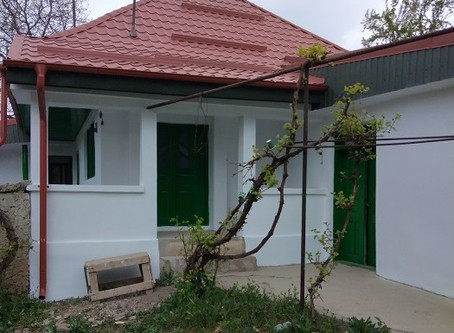 Forrófalva-Nagypatakon  új csángómagyar ház  nyílik
