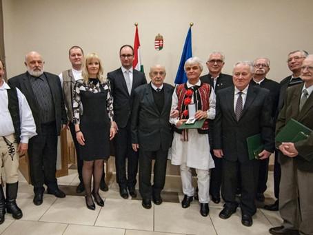 Állami kitüntetést kapott Antal Vajda János és Duma István András