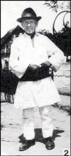 Idős csángó férfi (Somoska)