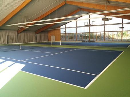 Schließung der Tennishalle