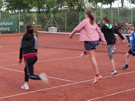 Tennisfreizeit 2020 - Tag 2: Ball aus der Luft? Kein Problem!