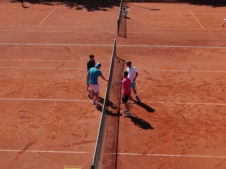Tennisfreizeit 2020 - Tag 4: Das Gelernte spielerisch anwenden