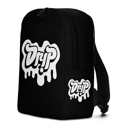 Drip Black Backpack
