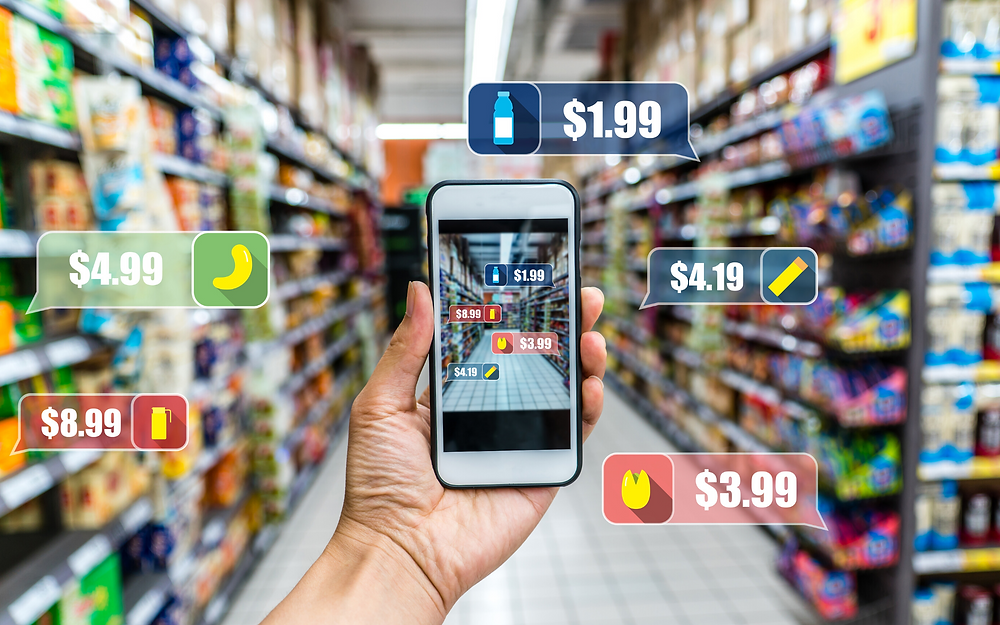 AR takes your real-world environment, and with the help of all these technologies - AI, ML, and CV - allows physical and digital items and information to coexist through a lens - most commonly, your smart phone, and soon, smart glasses or contacts.