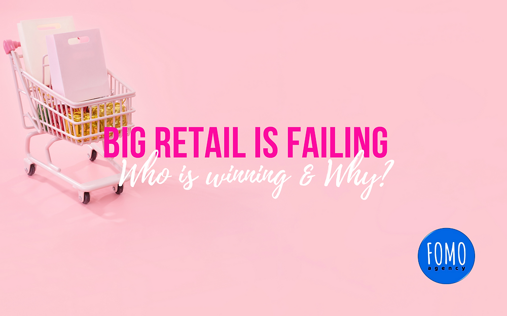 FOMO agency   eCommerce Business Consultants   ...the endless tests of changing technology, trends, and consumer demands. Every retail business has the opportunity to be successful - it's a matter of always ensuring your brand values, messages, and tools are in alignment with customers...