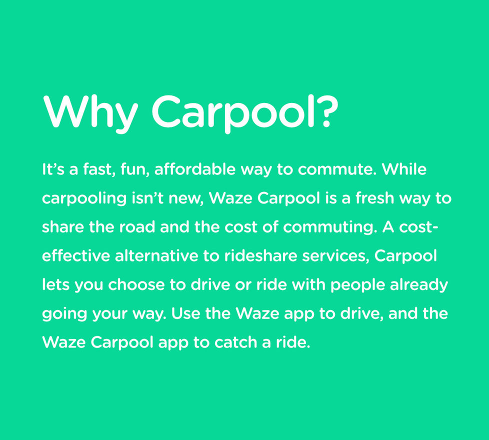 Carpool copy