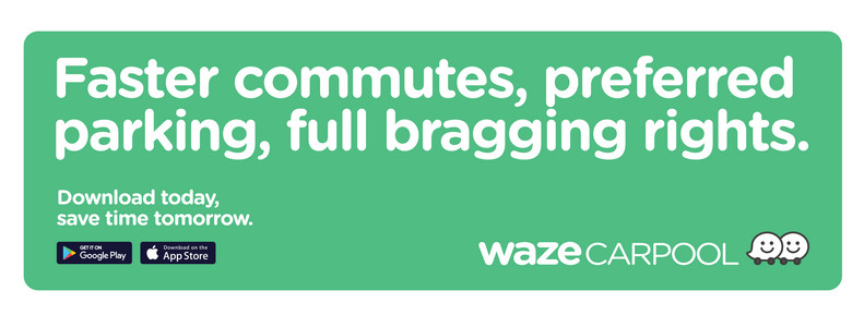 Carpool bumper sticker