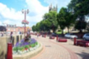 Ilkeston market town