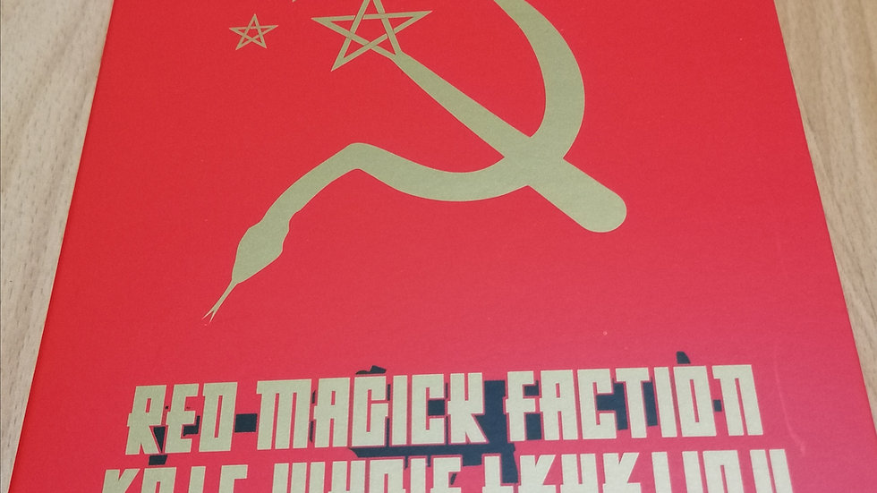 """CD """"Red Magick Faction"""""""