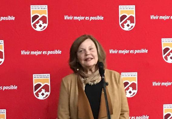 Anna-Karin Gauding, Presidenta ICHS