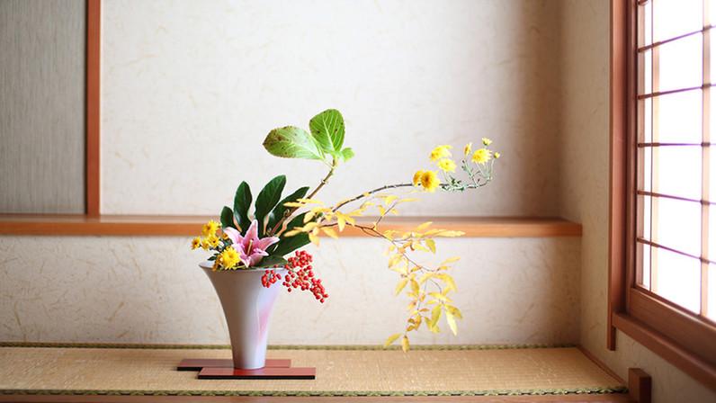 Ikebana d'automne