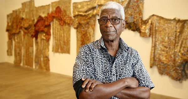 El Anatsui at the Museum of Contemporary