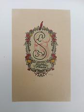 Ex-libris Lilian et Hans Singer.png