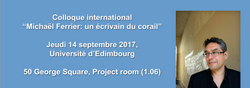 Colloque international Ferrier 1/3
