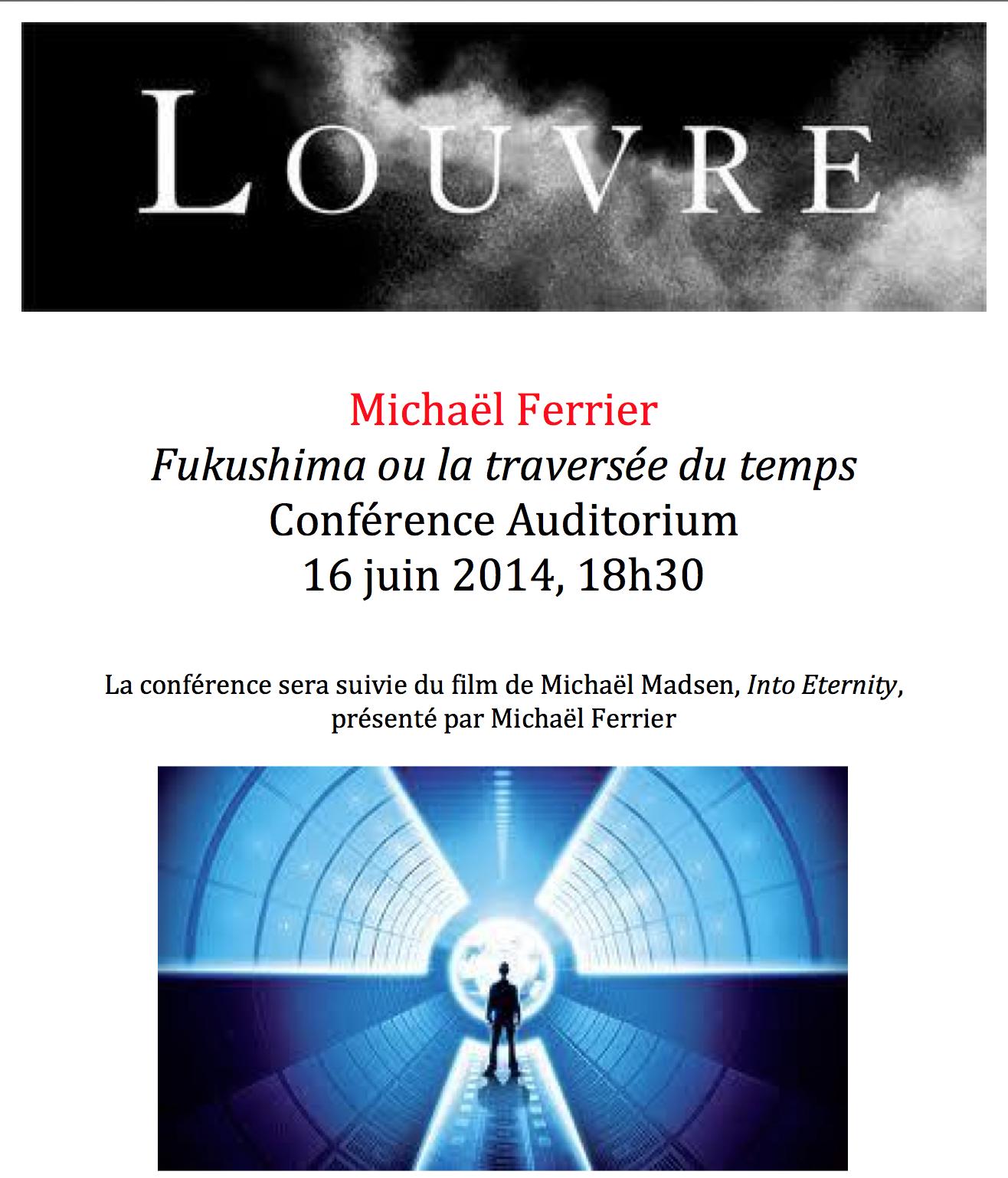 M. Ferrier au Louvre, 2014