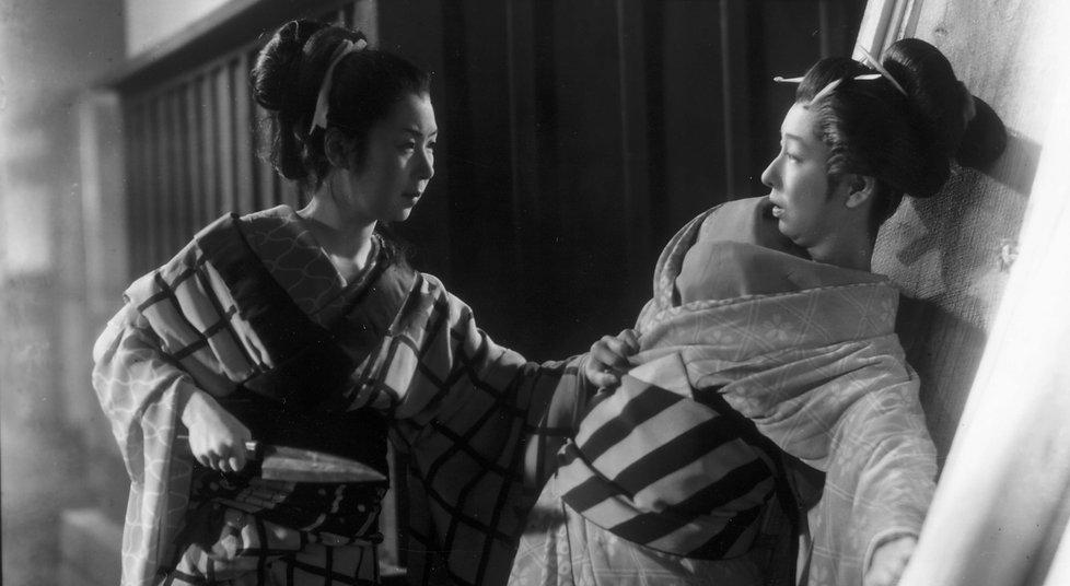 『歌麿をめぐる五人の女』 Cinq femmes autour d'Utamar