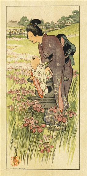 Hyde, A Day In June, 1910 Color woodcut