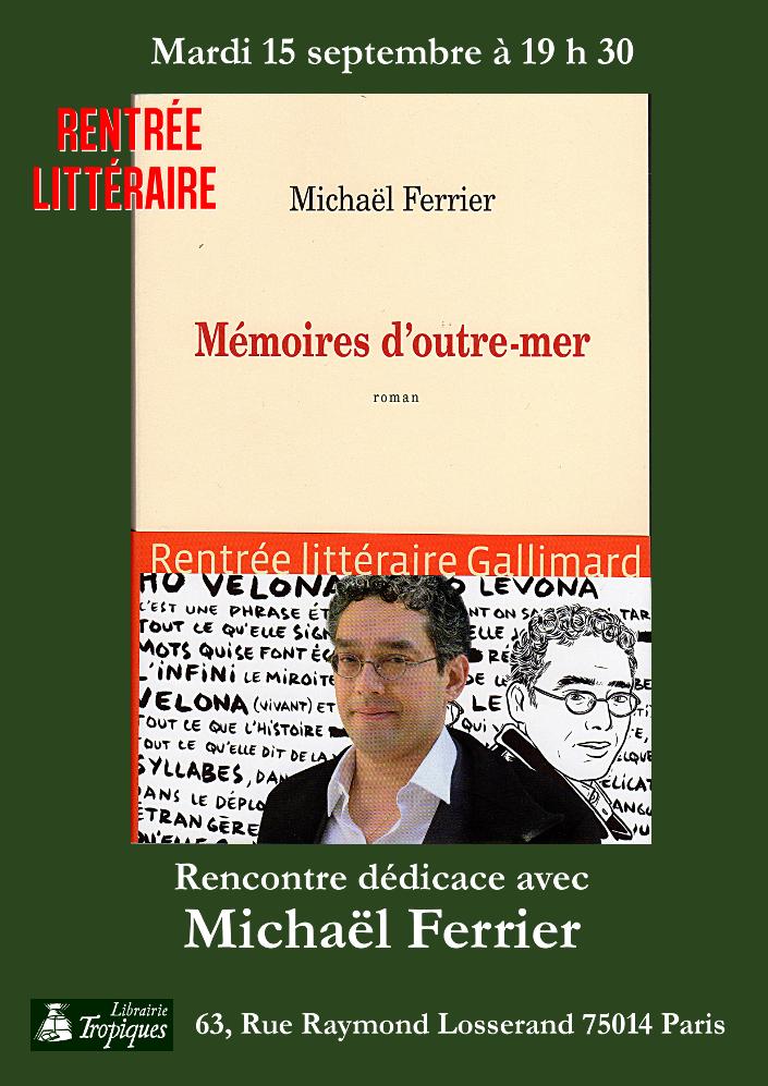 Dédicace Librairie Tropiques