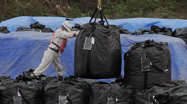 Décontamination dans la région de Fukush