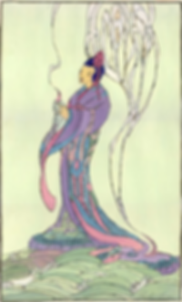 Bertha_Lum,_Kuan_Yin,__Illustration_for_