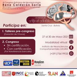 III Congreso Boliviano de Neuropsicología
