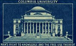 Columbia Univ., New York City, 1998