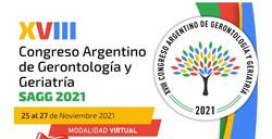 XVIII Congreso Argentino de Gerontología y Geriatría | SAGG 2021